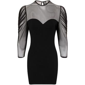 šaty dámske Necessary Evil - Ruched Mesh Lyssa, NECESSARY EVIL