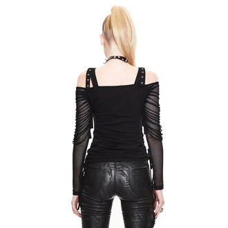 tričko dámske s dlhým rukávom Devil Fashion - Kraven - DVTT043