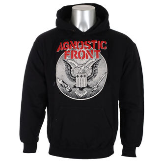 mikina pánska AGNOSTIC FRONT - ALL AGAINST ALL - Black - RAGEWEAR, RAGEWEAR, Agnostic Front