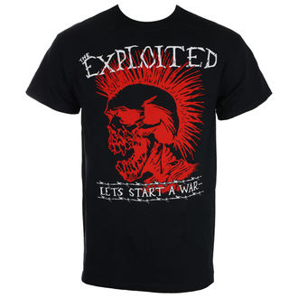 tričko pánske THE EXPLOITED - LET'S START A WAR - Black - RAGEWEAR, RAGEWEAR, Exploited