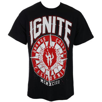 tričko pánske IGNITE - RED COMPASS - Black - RAGEWEAR, RAGEWEAR, Ignite