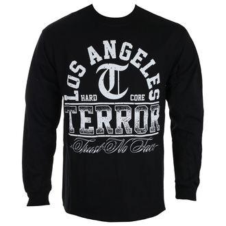 tričko pánske s dlhým rukávom TERROR - TRUST NO FACE - Black - RAGEWEAR, RAGEWEAR, Terror