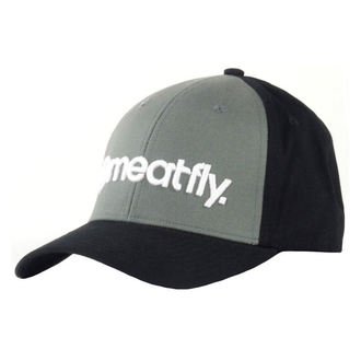 šiltovka MEATFLY - Trademark - B - Gray, MEATFLY