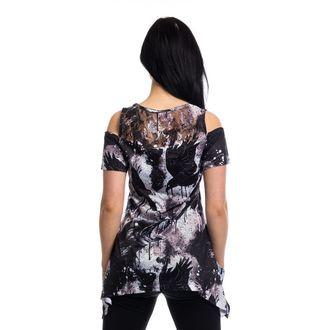šaty dámske (top) VIXXSIN - CROW LACE PANEL - BLACK, VIXXSIN