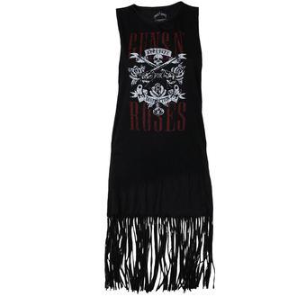 šaty dámske Guns N' Roses - AFD - Black - ROCK OFF, ROCK OFF, Guns N' Roses
