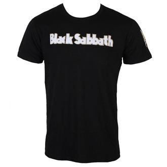 tričko pánske Black Sabbath - Logo & Daemon - Black - ROCK OFF, ROCK OFF, Black Sabbath