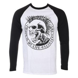 tričko pánske s dlhým rukávom THE EXPLOITED - Chaos Is My Life - NUCLEAR BLAST, NUCLEAR BLAST, Exploited