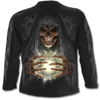 tričko pánske s dlhým rukávom SPIRAL - DEATH LANTERN - Black, SPIRAL