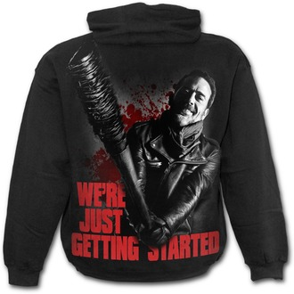 mikina pánska SPIRAL - NEGAN - JUST GETTING STARTED - Walking Dead - Black, SPIRAL