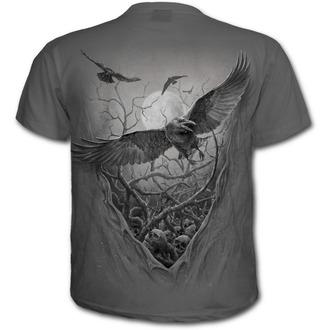 tričko pánske SPIRAL - ROOTS OF HELL - Charcoal, SPIRAL
