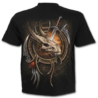 tričko pánske SPIRAL - CENTAUR SLAYER - Black, SPIRAL