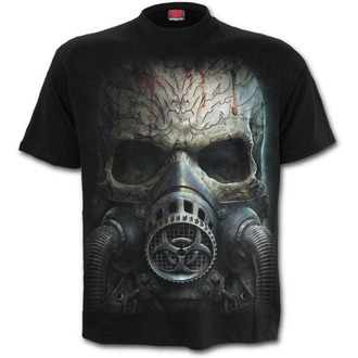 tričko pánske SPIRAL - BIO-SKULL - Black, SPIRAL