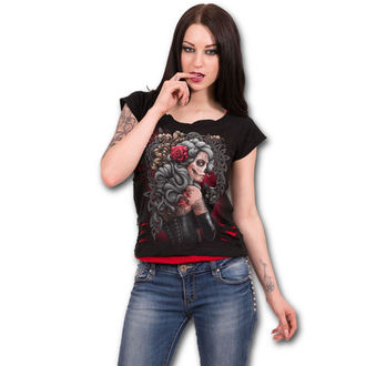 tričko dámske SPIRAL - DEAD TATTOO - Black, SPIRAL