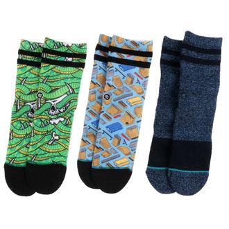 ponožky detské (sada 3ks) THRASHER - MULTI - T110A17THR-MUL