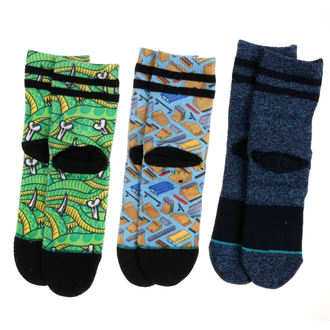 ponožky detské (sada 3ks) THRASHER - MULTI