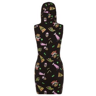 šaty dámske JAWBREAKER - Twisted Fast Food - DRA 8053