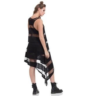 šaty dámske JAWBREAKER - Skull Striped, JAWBREAKER