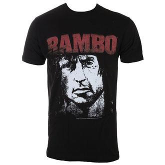 tričko pánske RAMBO - Red&White, AMERICAN CLASSICS