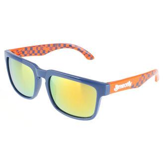 okuliare slnečné Meatfly - Rush B – Blue Orange, MEATFLY