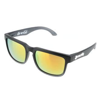 okuliare slnečné MEATFLY - Class A - Black, MEATFLY