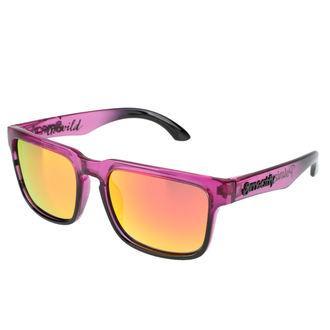 okuliare slnečné Meatfly - Class Polarized C - Purple, MEATFLY