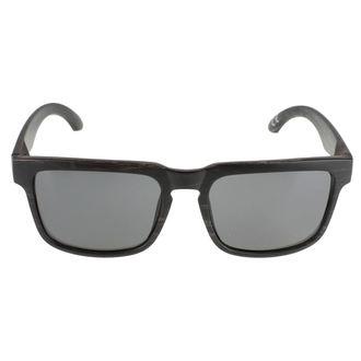 okuliare slnečné Meatfly - Craft A - Black Wood, MEATFLY