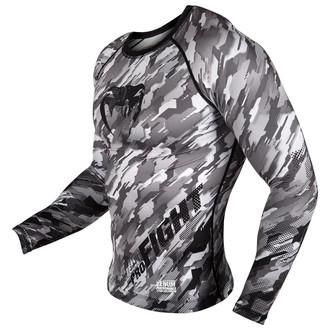 tričko pánske s dlhým rukávom (termo) Venum - Tecmo Rashguard - Black/Grey, VENUM