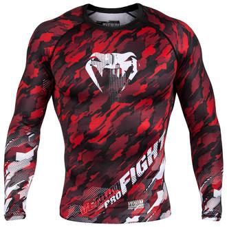 tričko pánske s dlhým rukávom (termo) Venum - Tecmo Rashguard - Red / White, VENUM