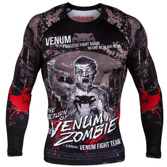 tričko pánske s dlhým rukávom Venum - Zombie Return Rashguard - Black, VENUM
