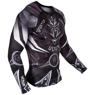 tričko pánske s dlhým rukávom (termo) Venum - Gladiator 3.0 Rashguard - Black/White, VENUM