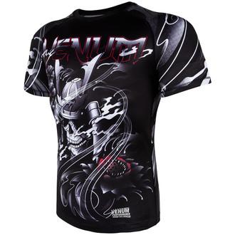 tričko pánske (termo) Venum - Samurai Skull Rashguard - Black, VENUM