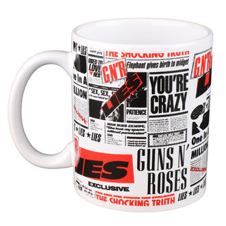 hrnček Guns N' Roses - ROCK OFF, ROCK OFF, Guns N' Roses