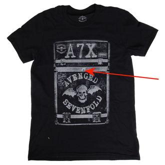 tričko pánske Avenged Sevenfold - Flightcase - ROCK OFF - POŠKODENÉ, ROCK OFF, Avenged Sevenfold