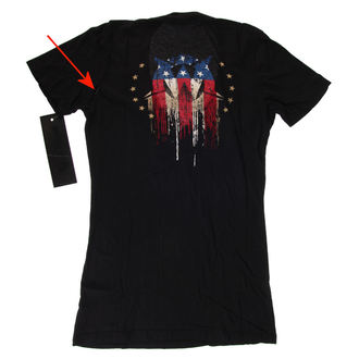 tričko dámske WORNSTAR - Americoma - POŠKODENÉ