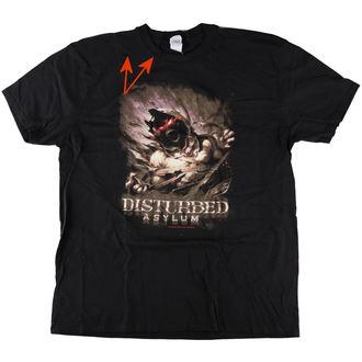 tričko pánske Disturbed - Asylum - Black - ROCK OFF - POŠKODENÉ, ROCK OFF, Disturbed