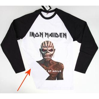 tričko pánske s dlhým rukávom Iron Maiden - Book Of Souls - ROCK OFF - POŠKODENÉ, ROCK OFF, Iron Maiden