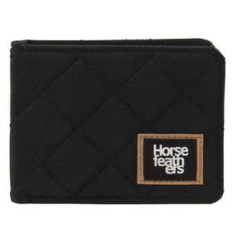 peňaženka HORSEFEATHERS - DEACON - BLACK, HORSEFEATHERS