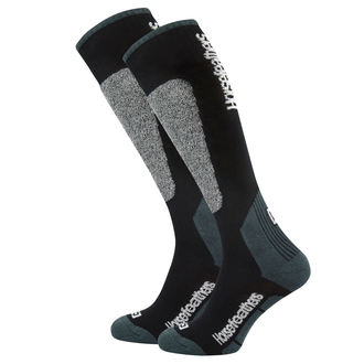 ponožky (podkolienky) HORSEFEATHERS - CALEB - BLACK, HORSEFEATHERS
