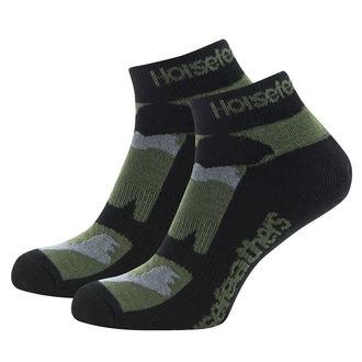 ponožky HORSEFEATHERS - JETT - Olive Camo, HORSEFEATHERS