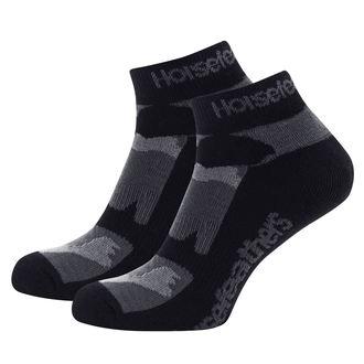 ponožky HORSEFEATHERS - JETT - Black Camo, HORSEFEATHERS