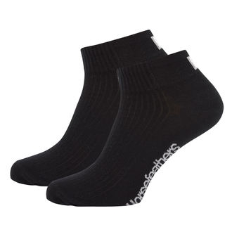 ponožky HORSEFEATHERS - BAY - Black, HORSEFEATHERS