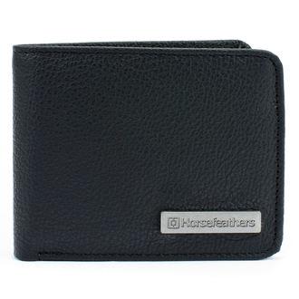peňaženka HORSEFEATHERS - BRAD - BLACK, HORSEFEATHERS