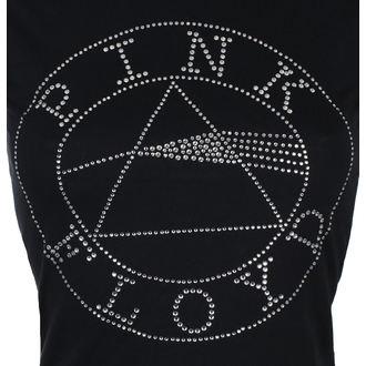 tričko dámske Pink Floyd - Circle Logo Diamante - Blk - ROCK OFF, ROCK OFF, Pink Floyd