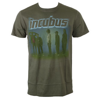 tričko pánske Incubus - WASHOUT- OLIVE - BRAVADO, BRAVADO, Incubus