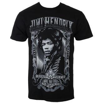 tričko pánske Jimi Hendrix - AUTHENTIC HENDRIX - BLK - BRAVADO, BRAVADO, Jimi Hendrix
