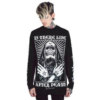 tričko pánske s dlhým rukávom KILLSTAR - Afterlife - BLACK