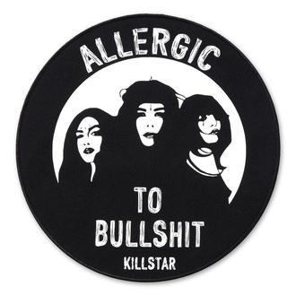 nášivka KILLSTAR - Allergic Back - BLACK - K-PTH-U-2092