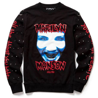 mikina (unisex) KILLSTAR - Marilyn Manson - All the Things You Hate - Black, KILLSTAR, Marilyn Manson