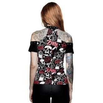 tričko dámske KILLSTAR - ROB ZOMBIE - American Nightmare Choker - BLACK, KILLSTAR, Rob Zombie