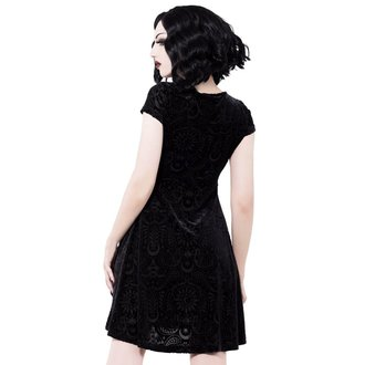 šaty dámske KILLSTAR - Angelyn - BLACK, KILLSTAR